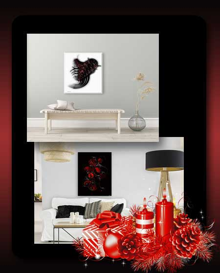Decorating in Red